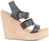 Pedro Garcia wedge sandals - women - Leather - 36