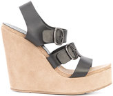 Pedro Garcia wedge sandals - women - Leather - 37