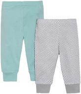 Skip Hop Blue & Gray Geometric Lounge Pants Set