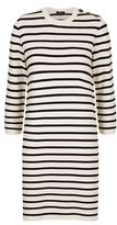 Theory Lemdrella Prosecco Striped Jumper Dress