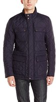 Vince Camuto Men's Basic 4 Pocket Quilted Jacket