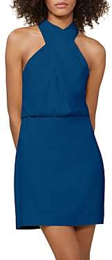 Halston Crepe Mini Dress