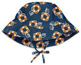 I Play Lifesaver Brim Sun Protection Hat in Navy