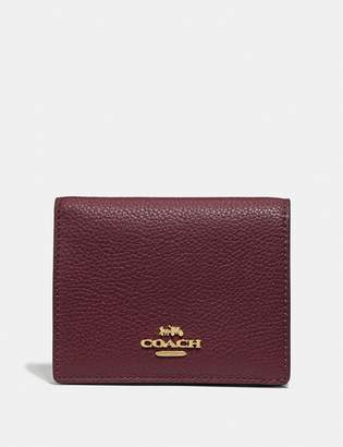 Coach Small Snap Wallet In Colorblock
