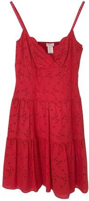 Collette Dinnigan Red Cotton Dress for Women