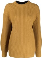 Thumbnail for your product : Proenza Schouler White Label Rear Tie Detail Knit Jumper
