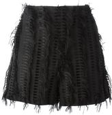 Chalayan 'Nothing' frayed shorts