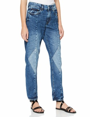 G Star Women's 3301-L Mid Waist Boyfriend Jeans