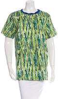 Stella Jean Bamboo Print Short Sleeve Top w/ Tags