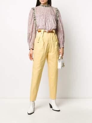 Etoile Isabel Marant long sleeve Vega floral print blouse
