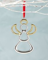 Nambe Angel Christmas Ornament