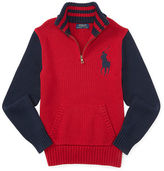 Ralph Lauren Big Pony Half Zip Sweater