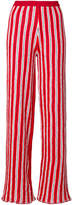 Aviu striped wide leg trousers