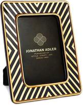 """Jonathan Adler X-Line Frame - 4""""x6"""" - Black & Gold"""