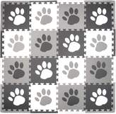 Tadpoles Soft Foam Playmat 16 Piece Set Pawprint