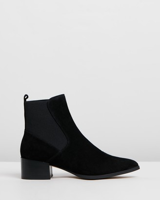 Mollini Darius Suede Leather Ankle Boots