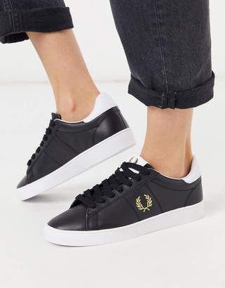 Fred Perry Spencer leather trainers