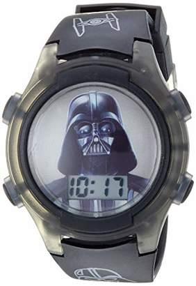 Star Wars Boys' Quartz Watch with Plastic Strap