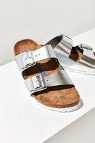 Birkenstock Metallic Arizona Soft Footbed Slide