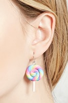 Forever 21 Rainbow Lollipop Drop Earrings