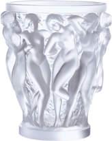 Lalique Bacchantes vase 24cm, Clear