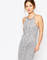 True Decadence Petite Allover Embellished Cami Shift Dress