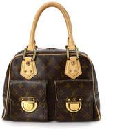 Louis Vuitton - Vintage Luxury Manhattan PM Satchel - Unisex