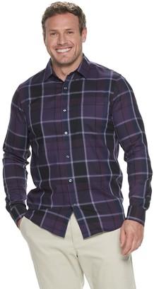 Apt. 9 Big & Tall Regular-Fit Non-Iron Woven Button-Down Shirt