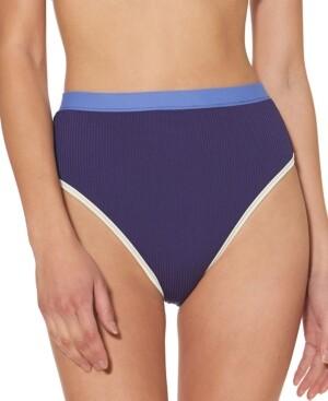 Jessica Simpson High-Waist Bikini Bottoms Women's Swimsuit