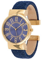 Joan Rivers Classics Collection Joan Rivers Classic Denim Bangle Watch