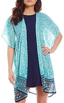 So It Is Paisley Printed Kimono