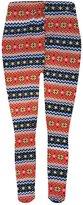 Popular Girls' Fleece Lined Seamless Leggings - M