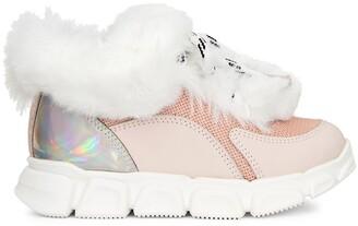 Giuseppe Zanotti Marshmallow Winter sneakers