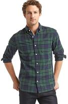 Gap Oxford plaid standard fit shirt