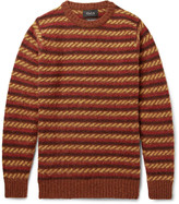 Howlin' - Flashing Echo Striped Virgin Wool Sweater