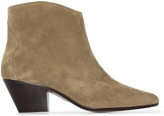 Isabel Marant Dackensue 60mm cowboy boots
