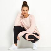 Apricot Life Pink Speckled Print Sweatshirt