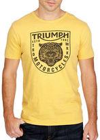 Lucky Brand Triumph Tiger Head Tee