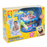 Alex Spongebob Jelly Fishing Bath Toy