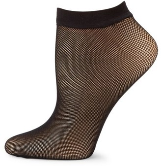 Fogal Netlace Micro Fishnet Ankle Socks