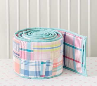 Pottery Barn Kids Madras Bumper