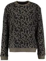 AllSaints MONTAL CREW Sweatshirt khaki brown/black