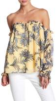 Yumi Kim Spring Break Off-the-Shoulder Blouse