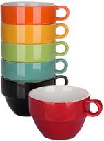 Very Rainbow Jumbo Stacking Mugs Set Of 6