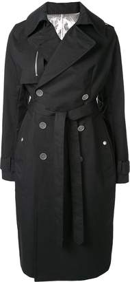 Unravel Project belted trench coat