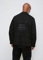 Yohji Yamamoto Black Work Shirt Jacket
