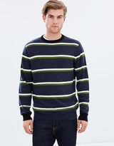 Stripe Crewneck Knit