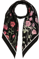 Rockins Roses Classic Skinny Scarf