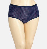 Avenue Pink Dot Cotton Full Brief Panty