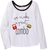 Ten Sixty Sherman We Make A Great Combo Tee (Little Girls & Big Girls)